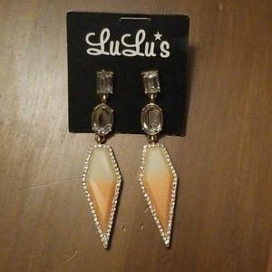 Lulu's fashion earrings